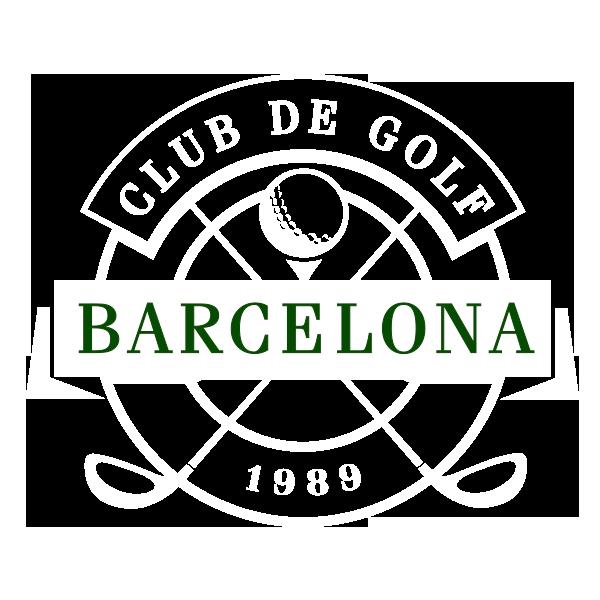 logo Golf Barcelona blanco